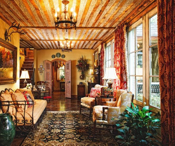 16 Stunning French Style Living Room Ideas: This French Country Decor Is Stunning Against The Rustic