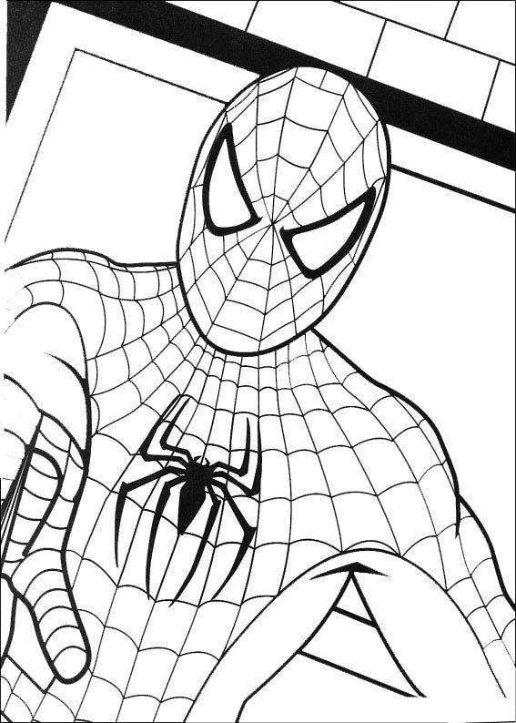 Pin de Géorgina Kincaid en Coloriages Spiderman | Pinterest