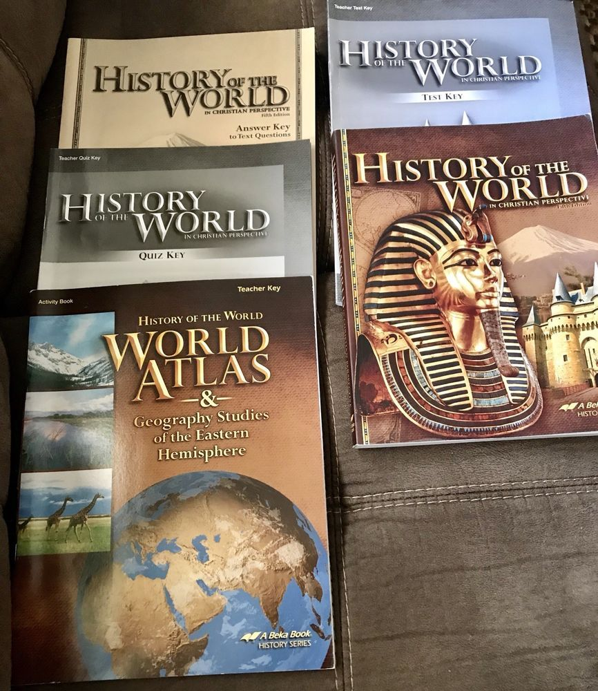 Abeka 7th Grade History Of The World Book Answertest Quiz Keys