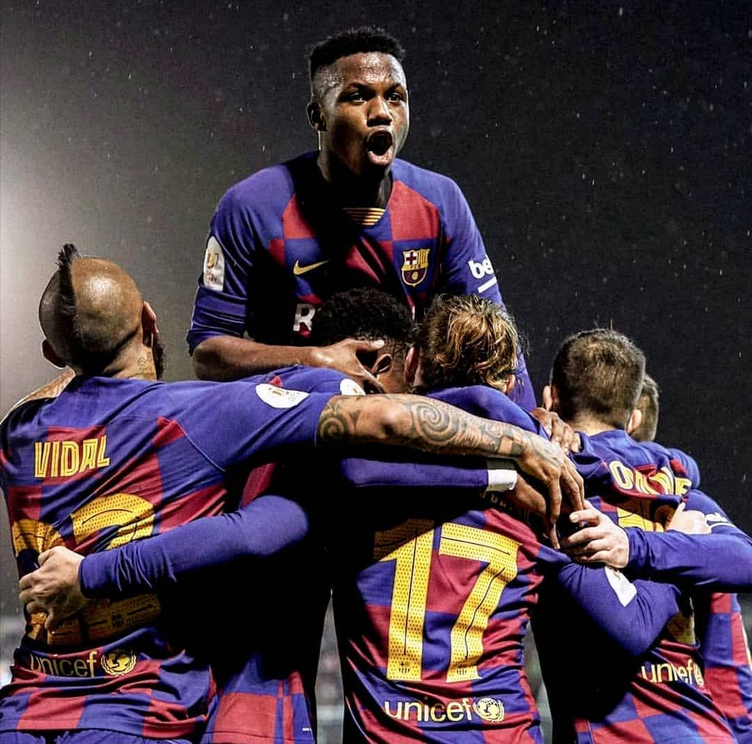 Ansu Fati Fanpage On Instagram What A Picture In 2020 Lionel Messi Instagram Pictures