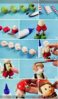 elfs madfe from polymer clay - Google Search
