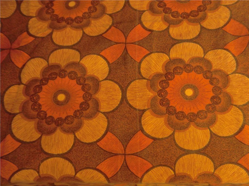 retro gardiner RETRO gardiner Tyg 70 tal sy till barn orange färgglatt på Tradera  retro gardiner