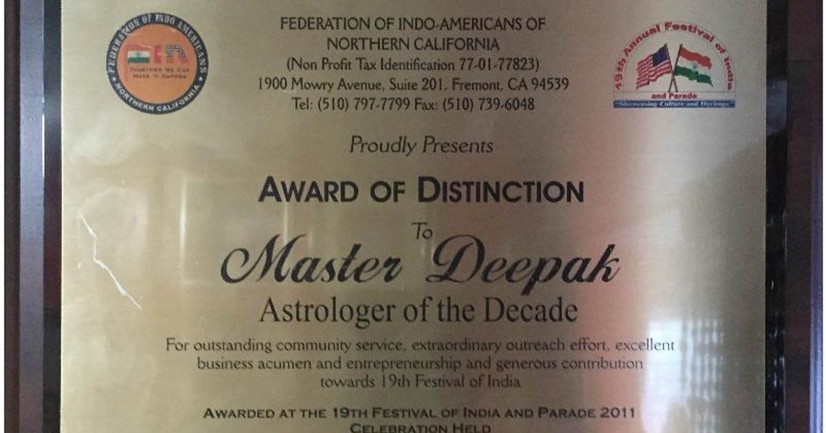 Masterdeepakji A Professional Astrologer With Deep Knowledge Of