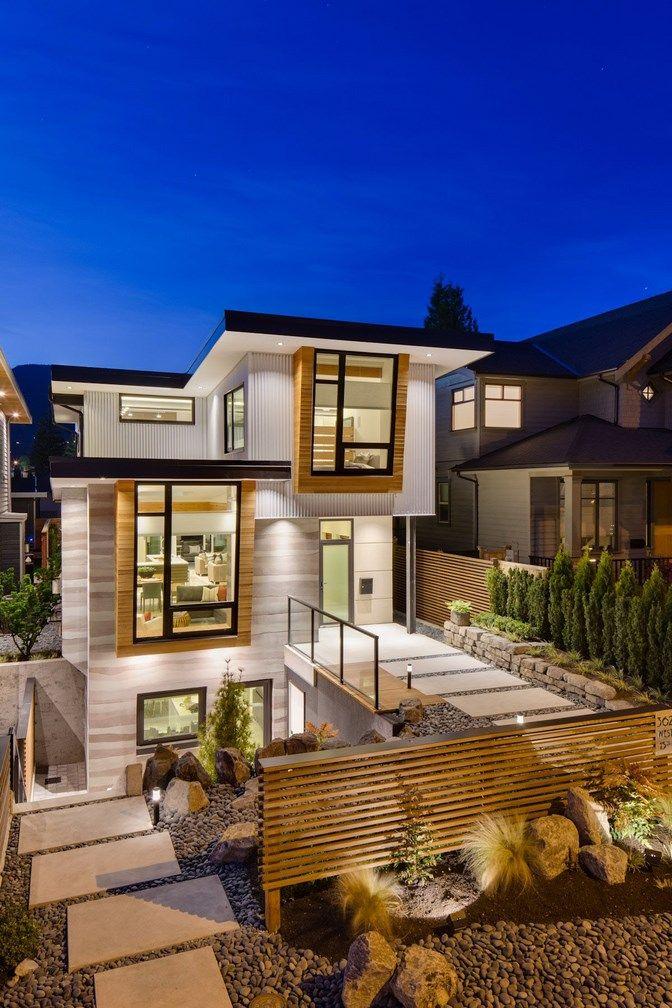 Midori Uchi By Naikoon Contracting And Kerschbaumer Design 3 Fachadas De Casas Modernas Fachada De Casa Casas