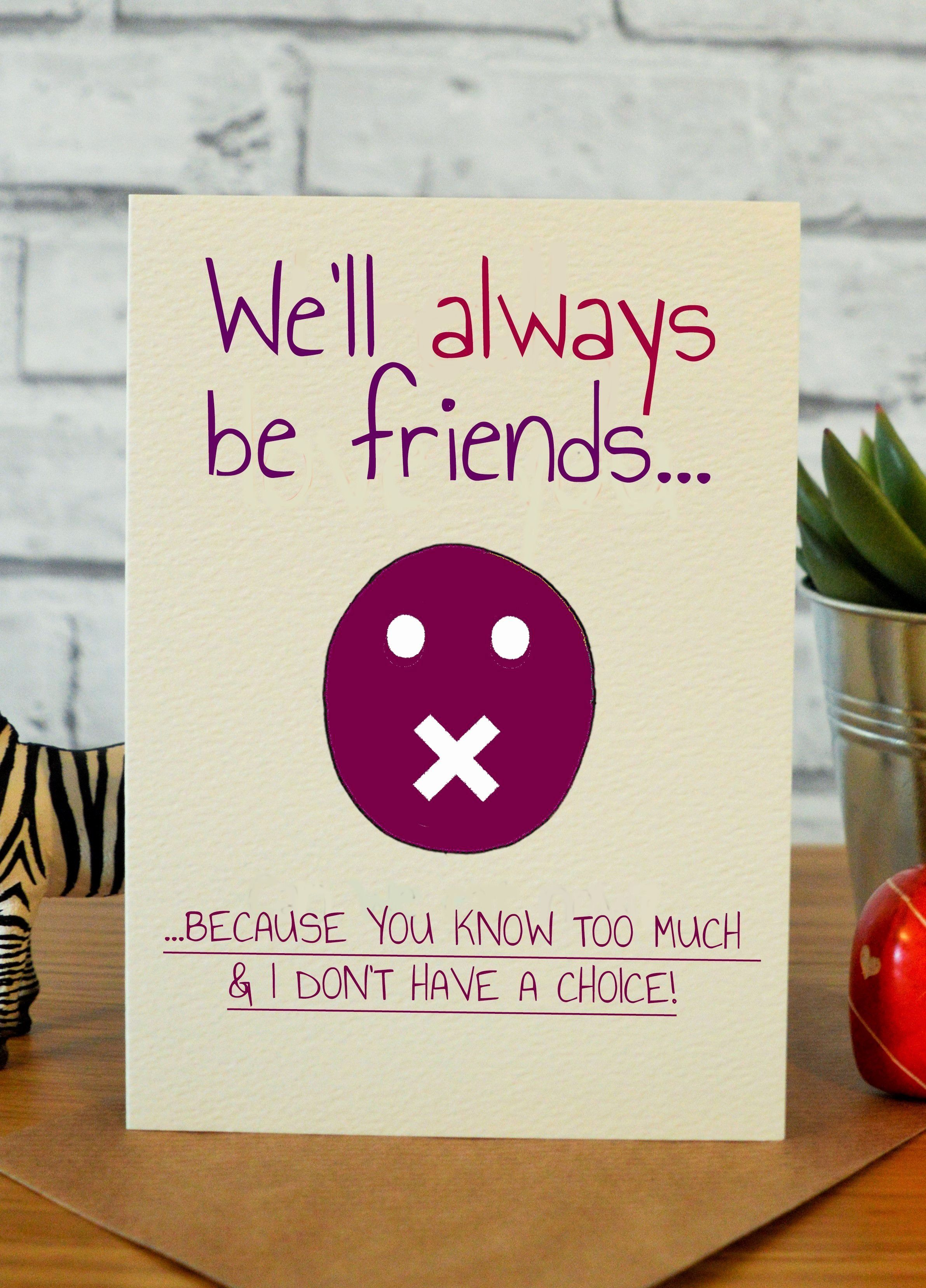 Funny Friend Ecard in 2020 (With images) Birthday cards