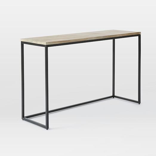 Box Frame Console Whitewashed Mango Modern Console Tables Contemporary Console Table Console Table