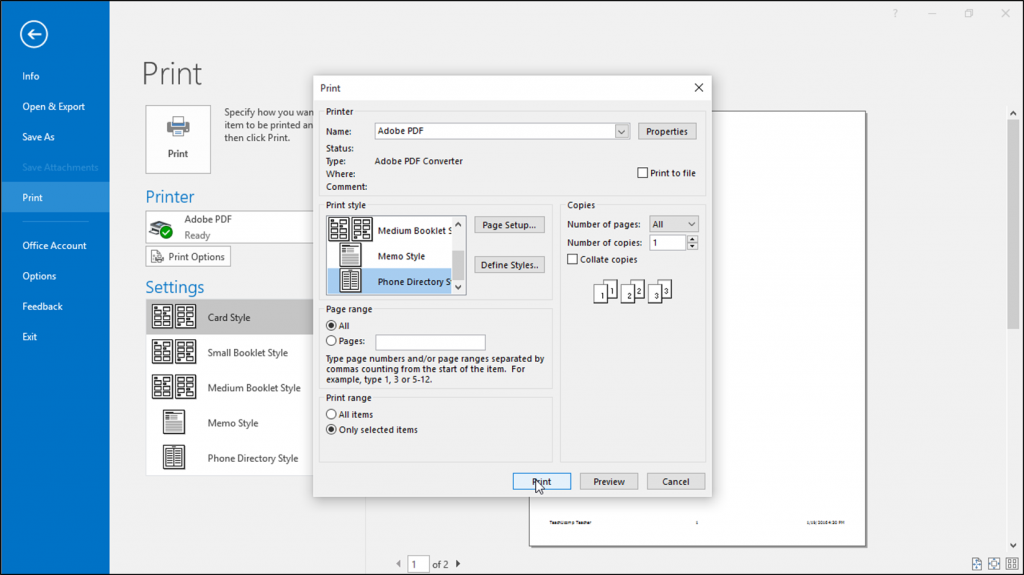 Reordering Editing Hiding And Deleting Teams Instructions Outlook Calendar Print Calendar Printable Calendar Template