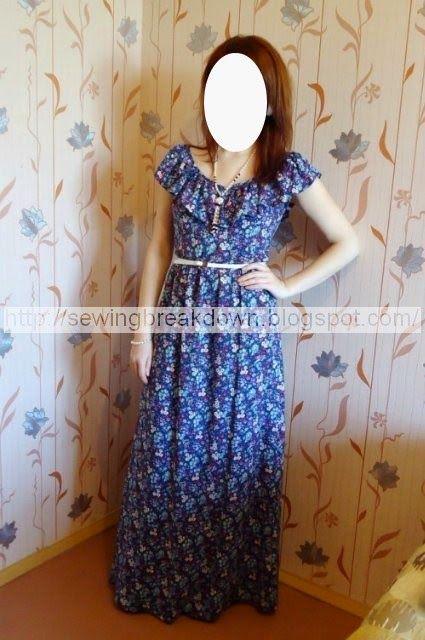 خطوات خياطة فستان بسيط للصيف - خياطة و تفصيل | robes d\'intérieur ...