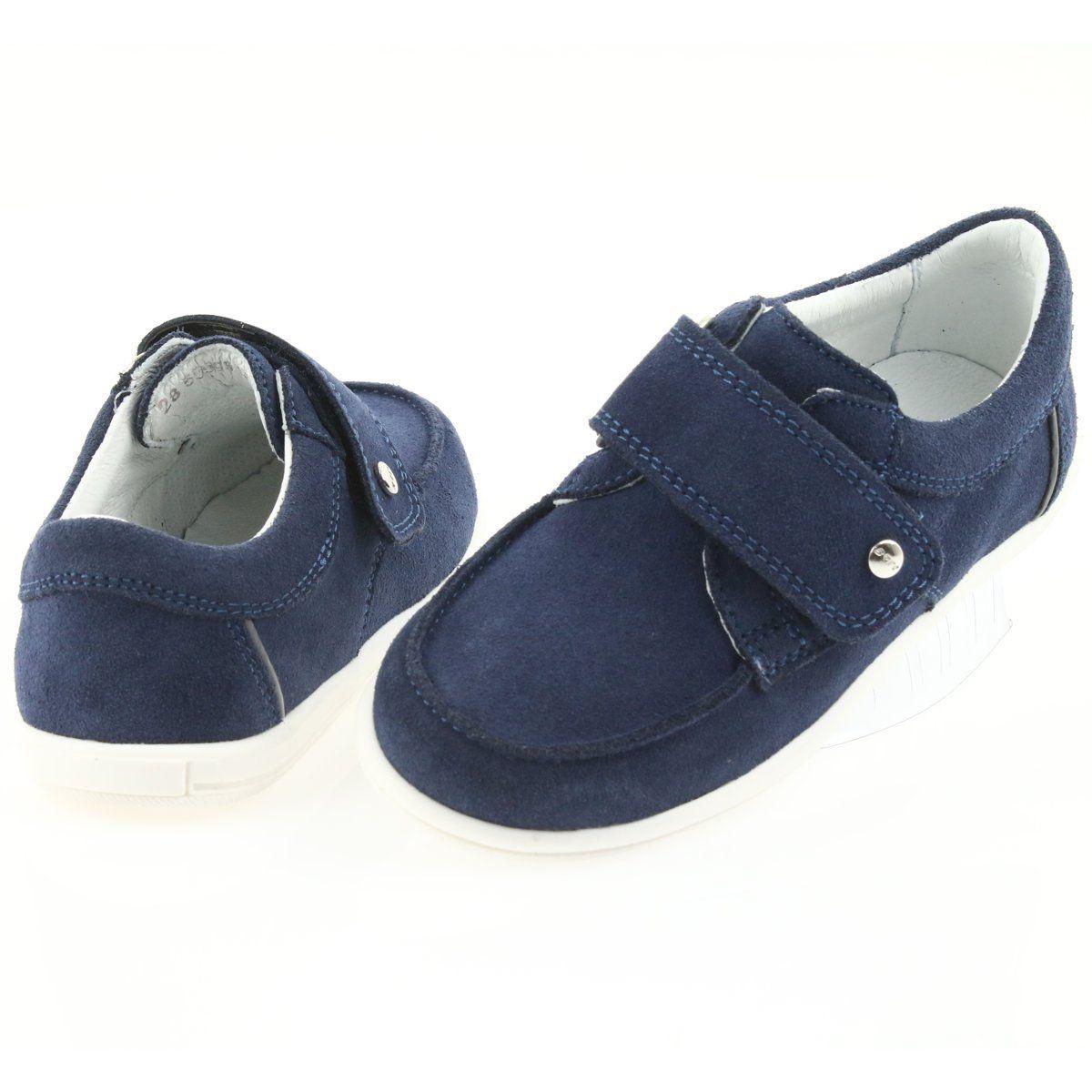 Bartek Polbuty Casualowe Chlopiece 55599 Granat Granatowe Boys Casual Shoes Childrens Shoes Shoes