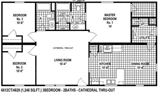 Check Out Our Spring View Mobile Home Floor Plan Great Plans For Living