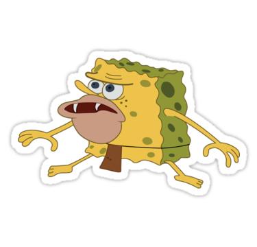 Pegatina Bob Esponja De Meeeghannn Spongebob Spongebob Wallpaper Spongebob Square