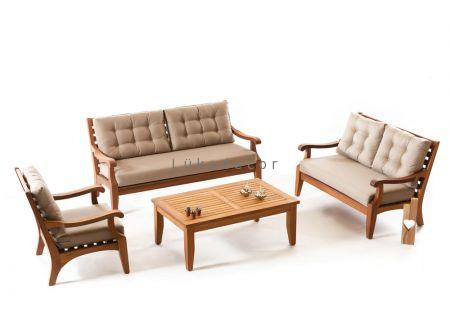 neveda yazlik masif koltuk takimi teak mobilya fikirleri mobilya