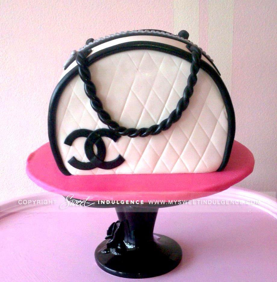 Chanel Cake Designs: Chanel Bag Cake
