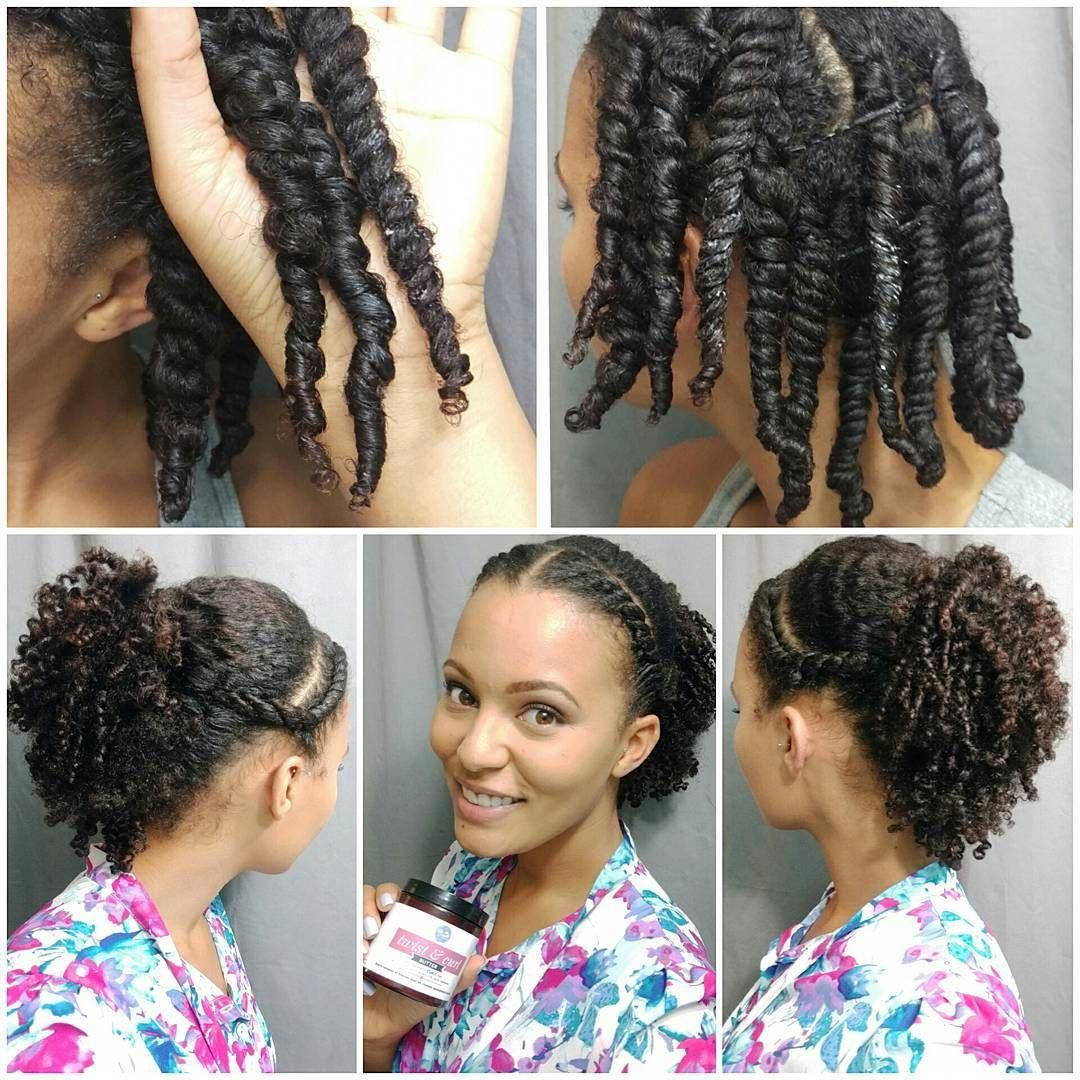 Happy Resurrection Sunday Friends I Did A Quick Style That Should Last Me The Week After Washing Twist Hairstyles Natural Hair Styles Flat Twist Hairstyles