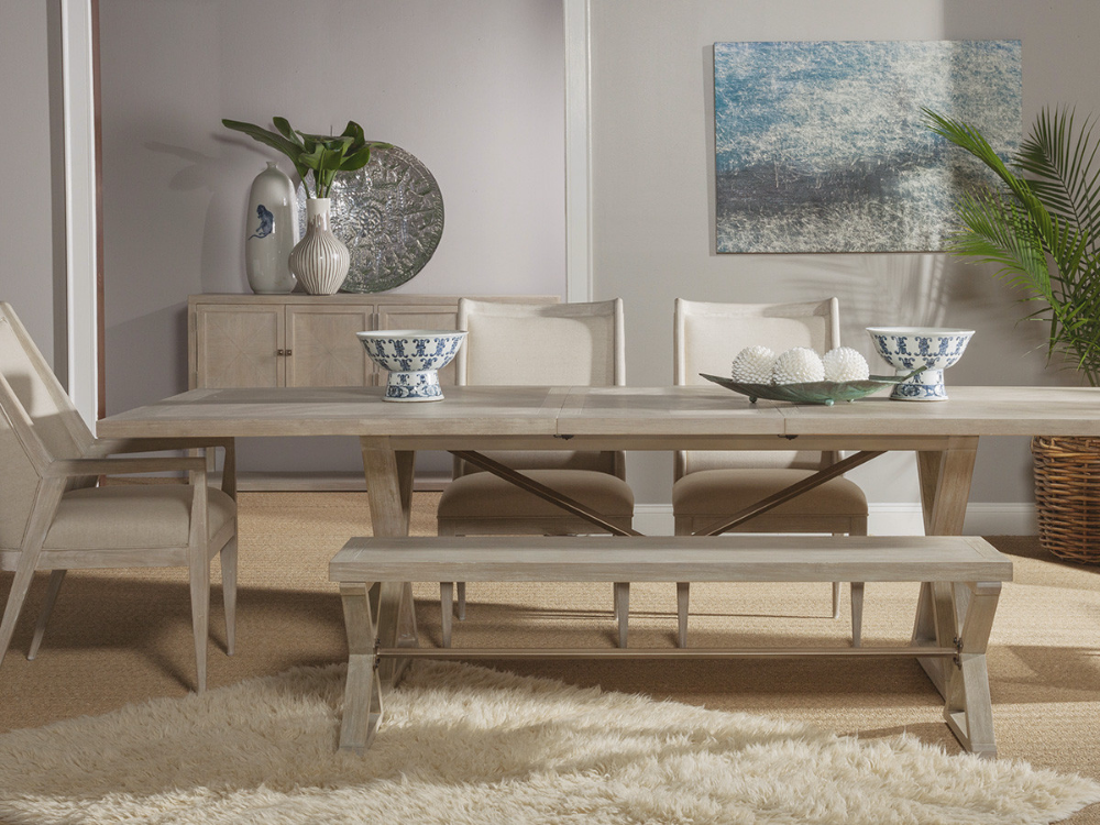Ringo Rectangular Dining Table Lexington Home Brands With