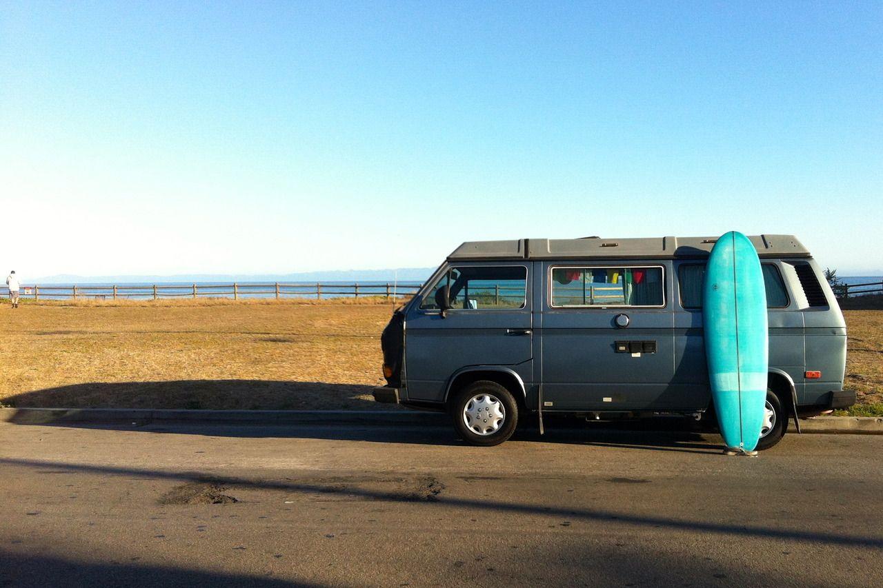 vanlife 1987 Volkswagen Westfalia Isla Vista, CA (2013