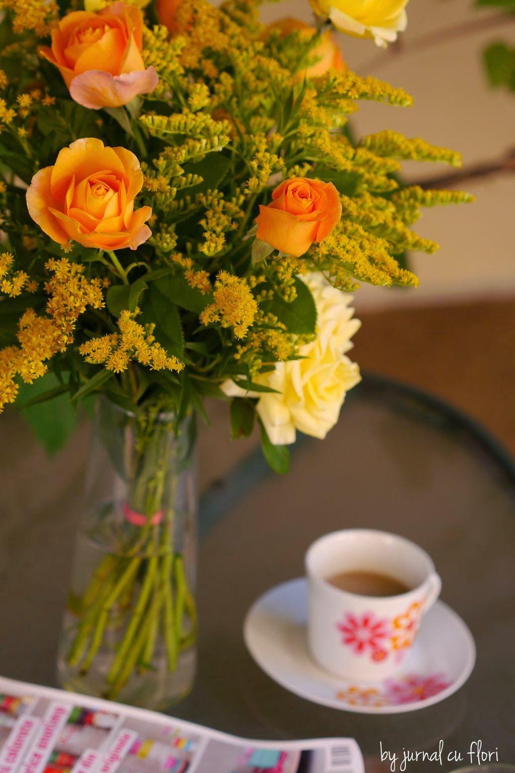Dimineti De Vara Flori Buchete Trandafiri
