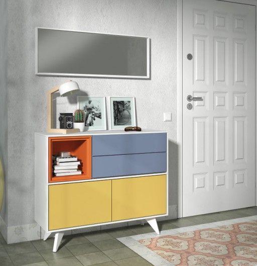 Decorar recibidores ideas para dar la bienvenida a casa for Decoracion espejos entrada casa