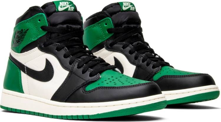 Air Jordan 1 Retro High Og Pine Green With Images Jordan