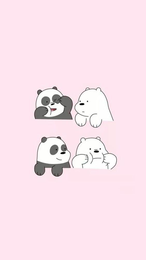 Three Bears We Bare Bears We The Bears Cute Korean Illustration Bear Wallpaper We Bare Bears Wallpapers Cute Cartoon Wallpapers