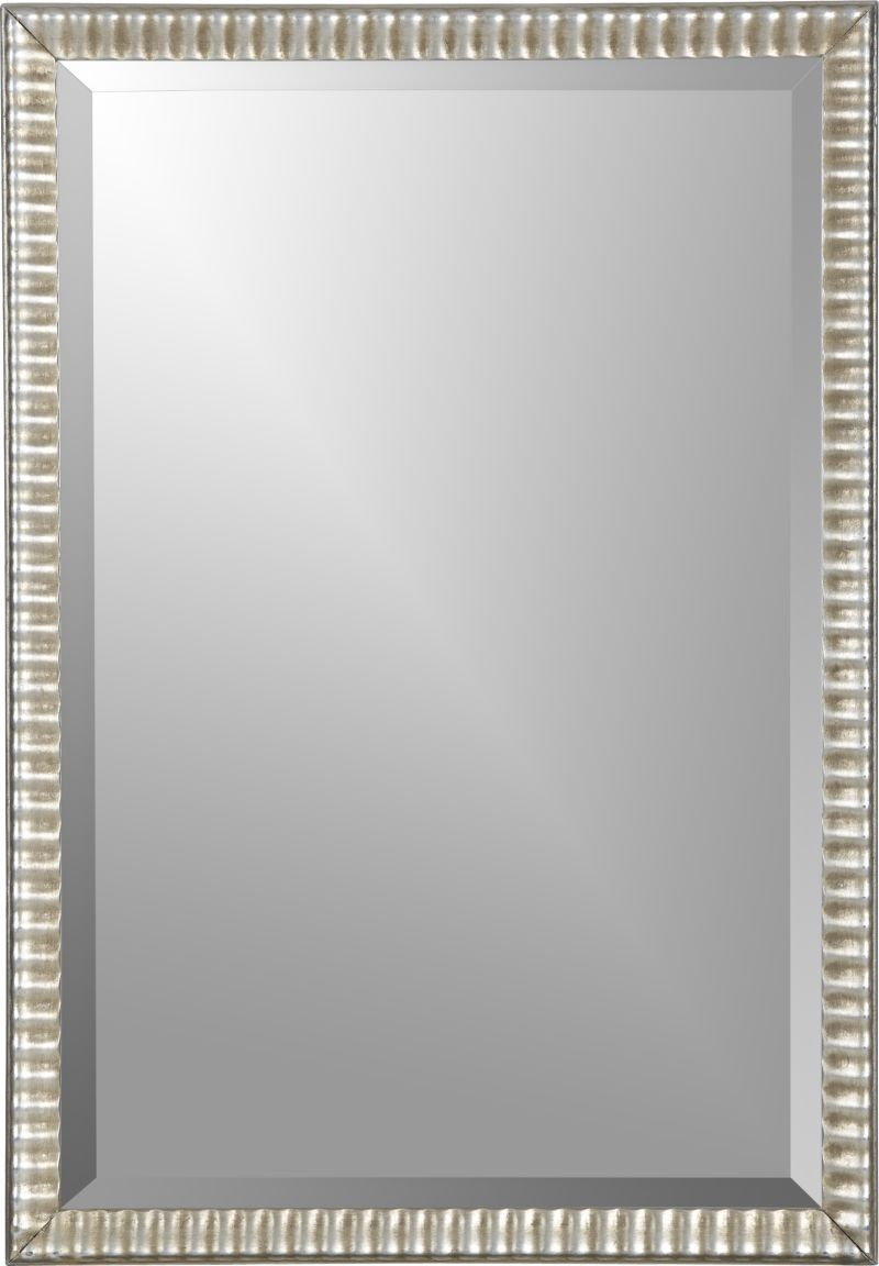 Silver Ripple Wall Mirror Mirror Wall Mirror Crate And Barrel