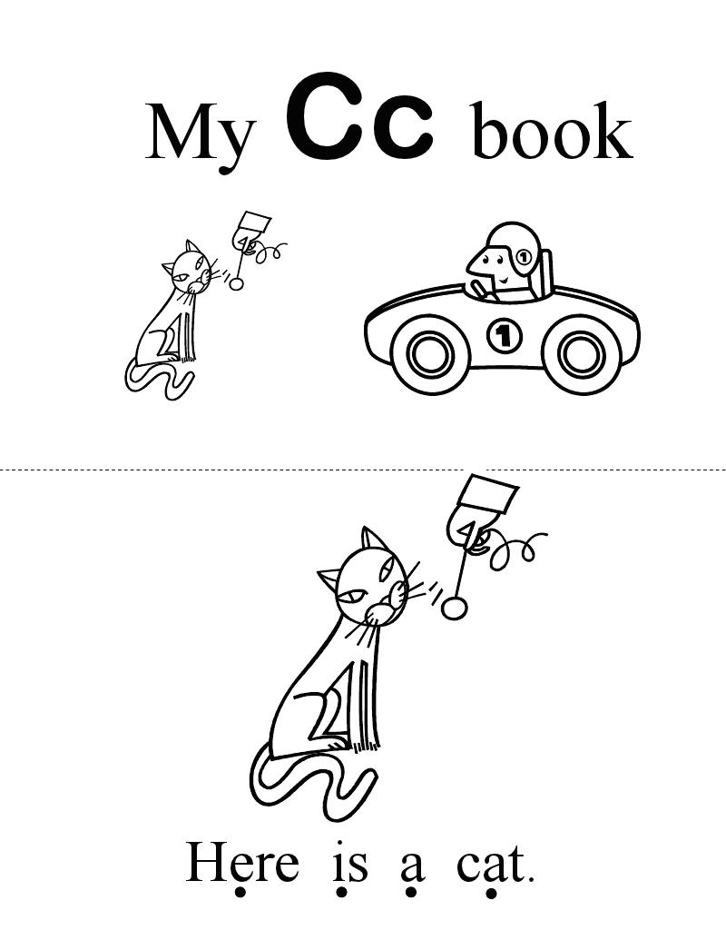 Letter Book CPdf  Letter C    Alphabet Book Abc