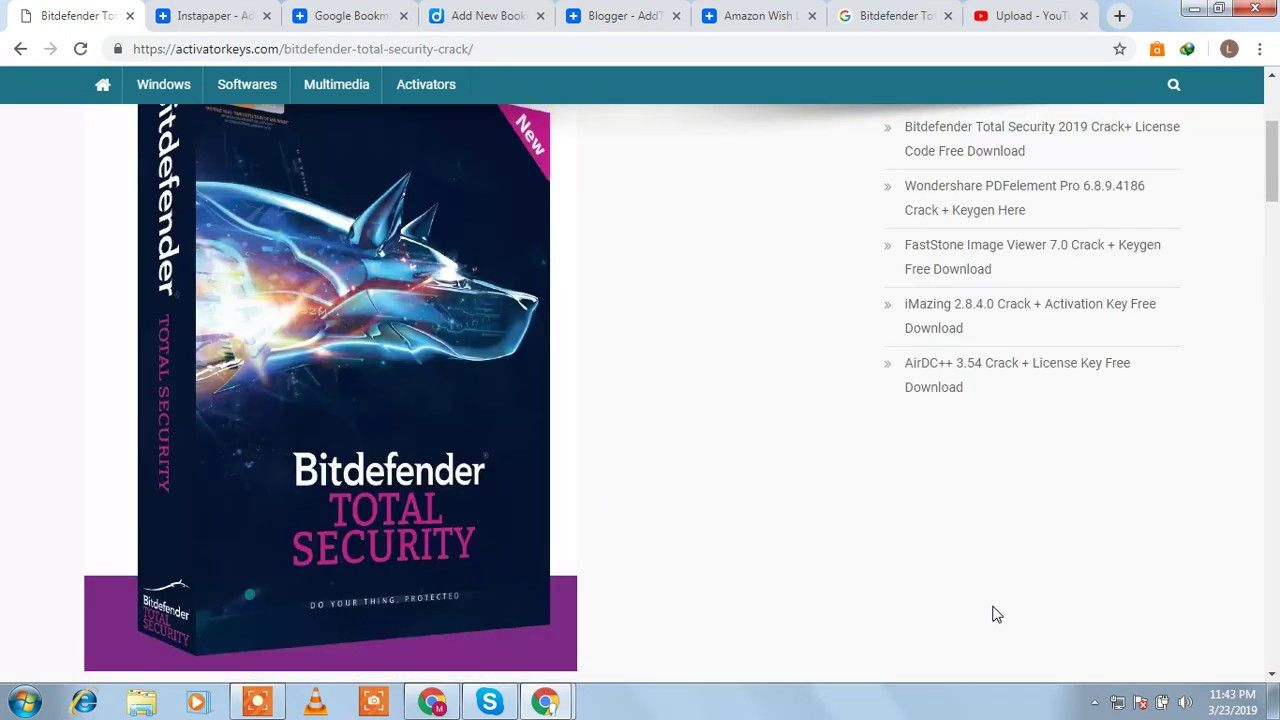 where to find bitdefender license key