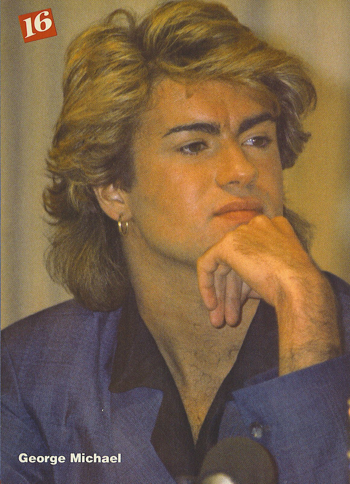 Photo of george michael for fans of George Michael. george michael, singer, handsom