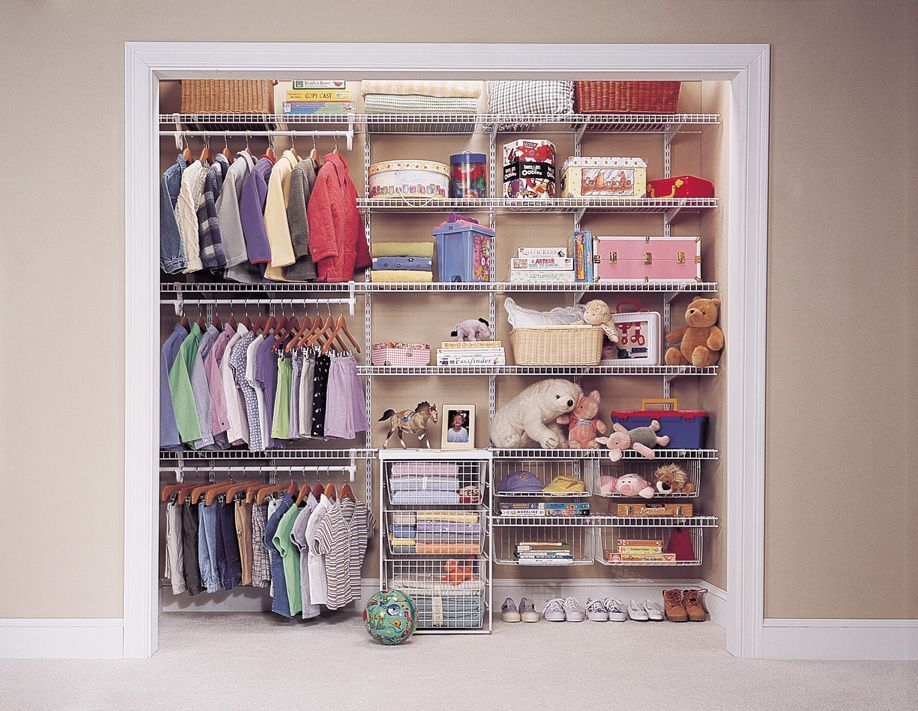 Wire Closet Shelving Systems Shelf Track Kids Closet Good Set Up