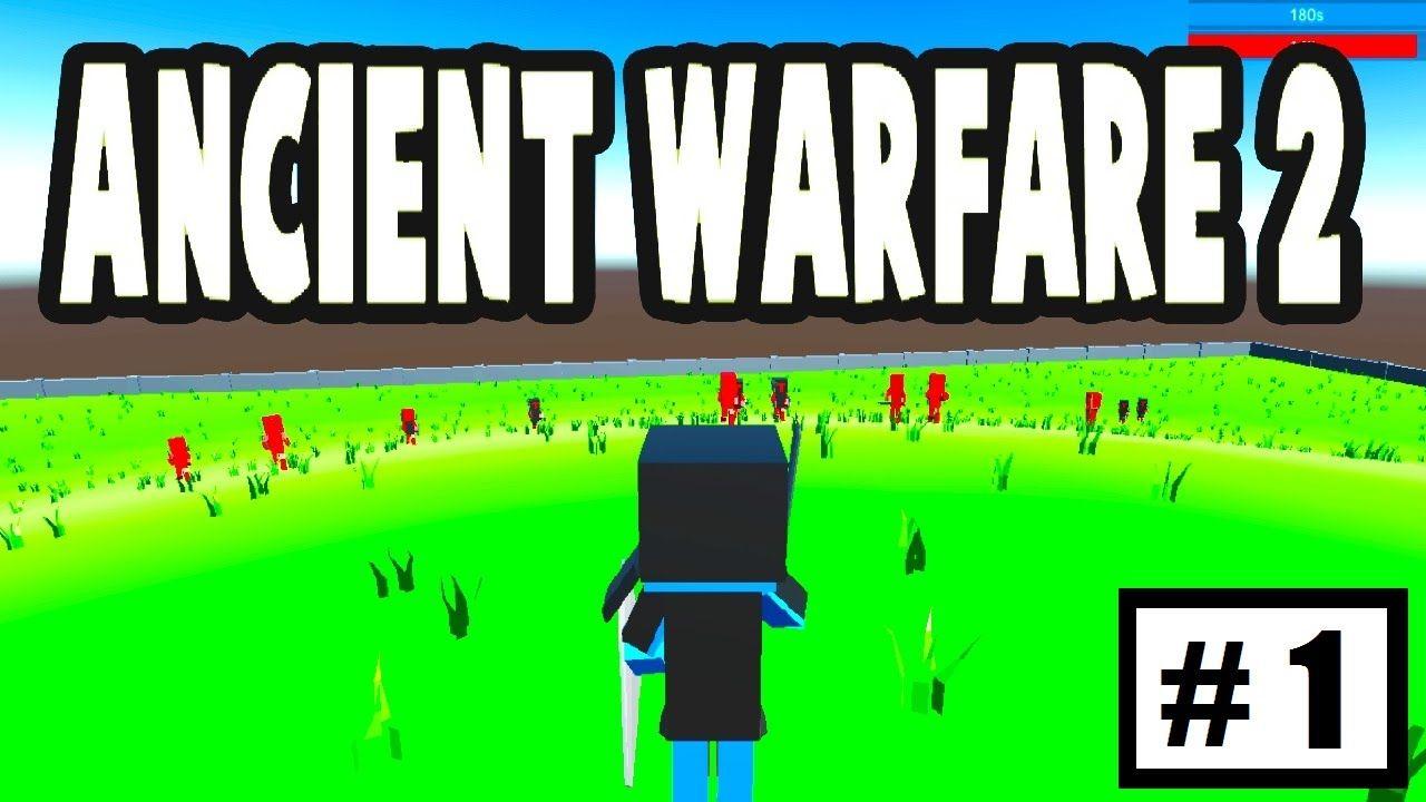 Ancient Warfare 2 minecraft wars!!!??? | ancient warfare 2 first impression (1