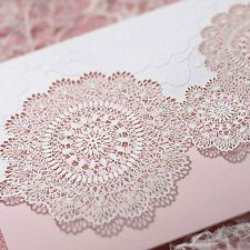 laser cut invitation