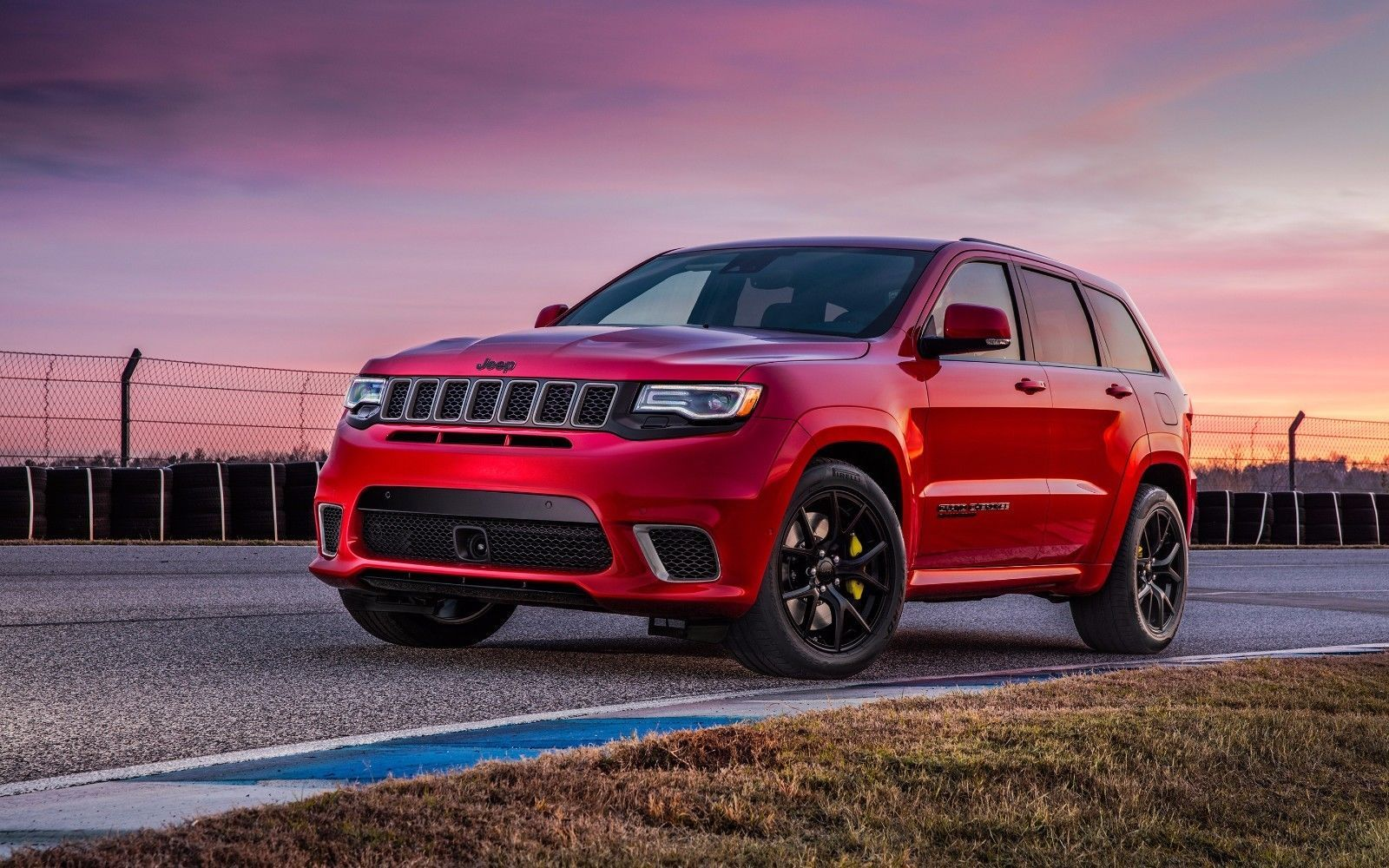 15 2018 Jeep Grand Cherokee Trackhawk Hd Art Poster 24inx18in