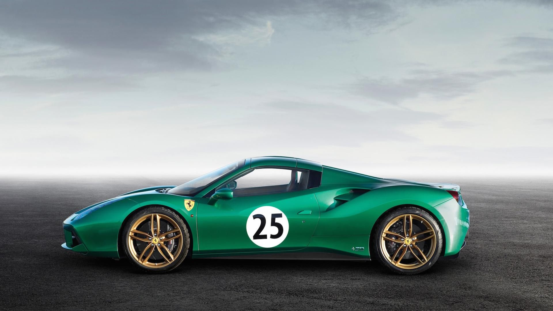 Ferrari 488 Spider 'Green Jewel' Sells For A Whopping $1 ...