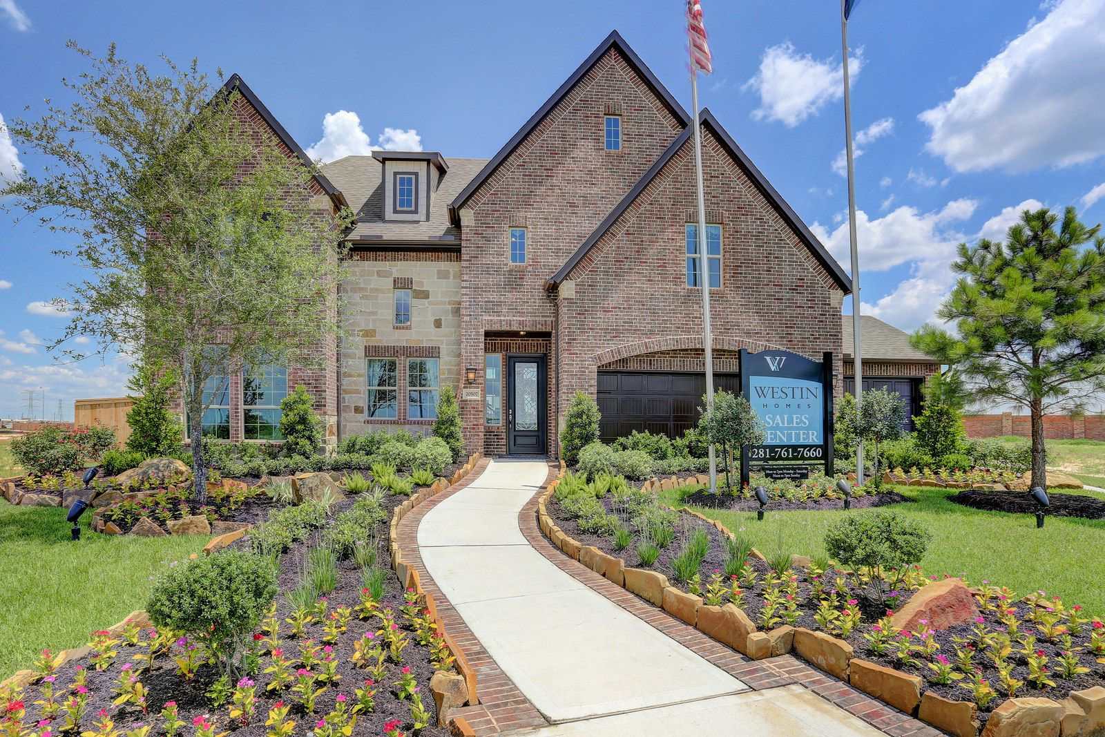 20507 regal shadow ln carter b model home westin homes house malvernweather Images
