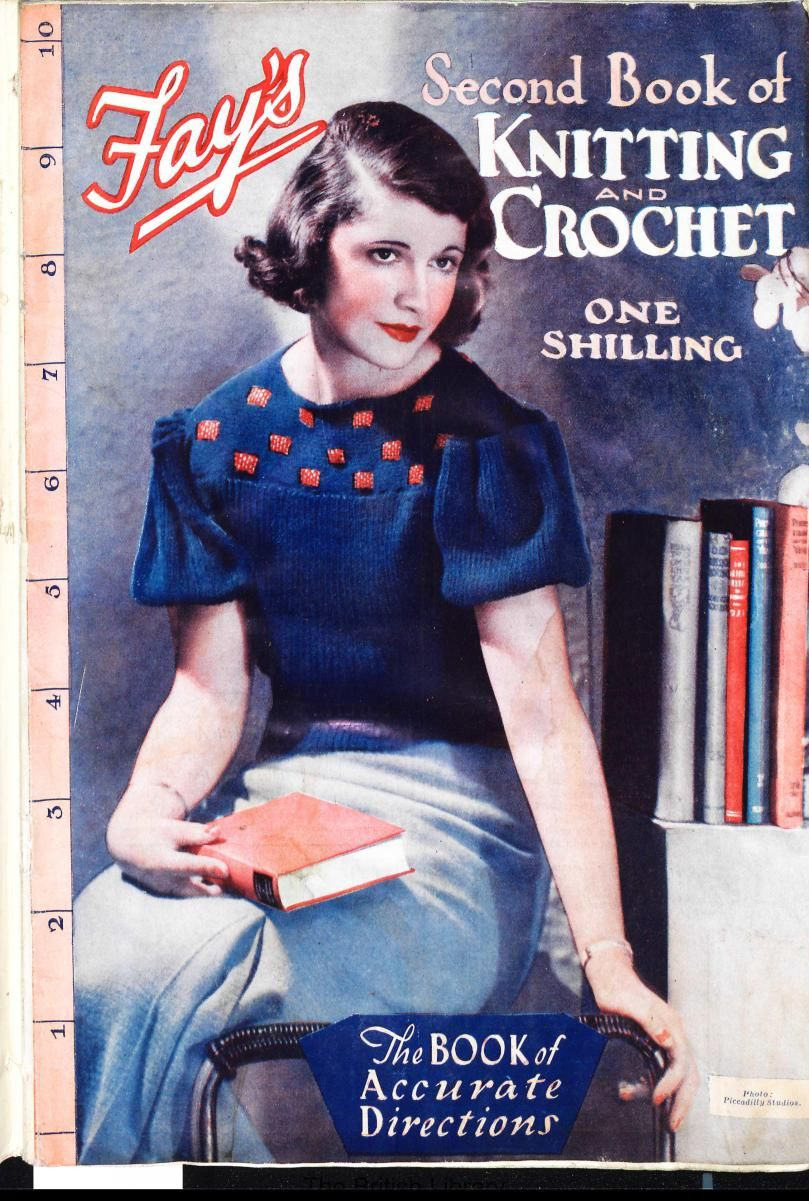 Free Vintage Knitting Patterns – Tops from 1935 (Fay\'s Second Book ...