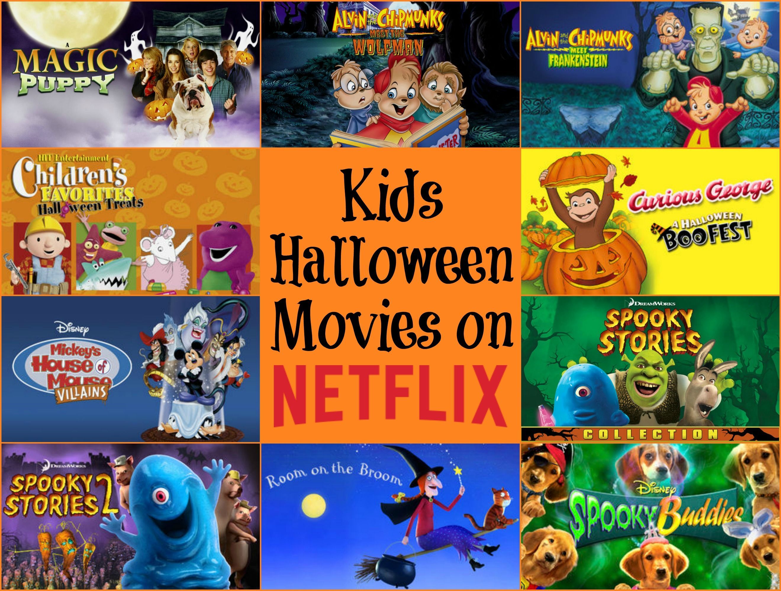 Kids Halloween Movies on Netflix! StreamTeam Halloween