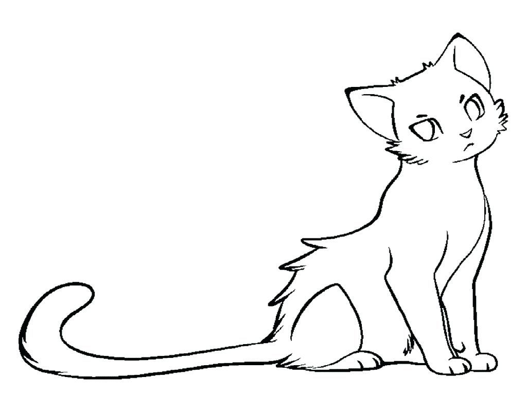 Warrior Cat Coloring Pages Online Warriors Cats Archives Archived On Coloring Pages Category With Simple Cat Drawing Cat Drawing Tutorial Warrior Cat Drawings