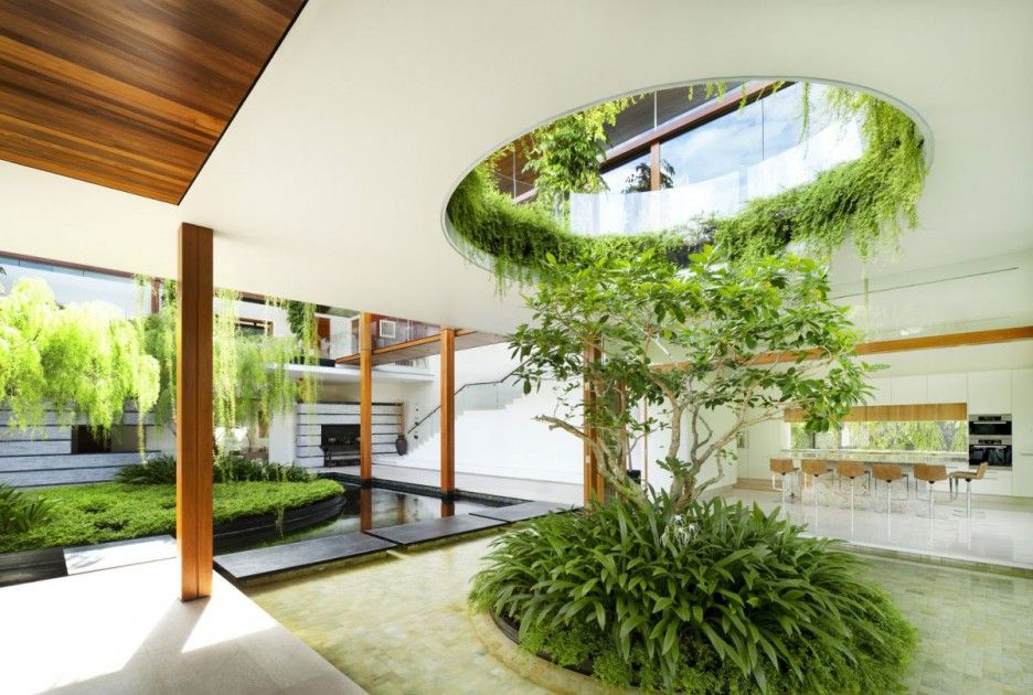 Exceptional Cluny Park House In Singapore By Guz Architects
