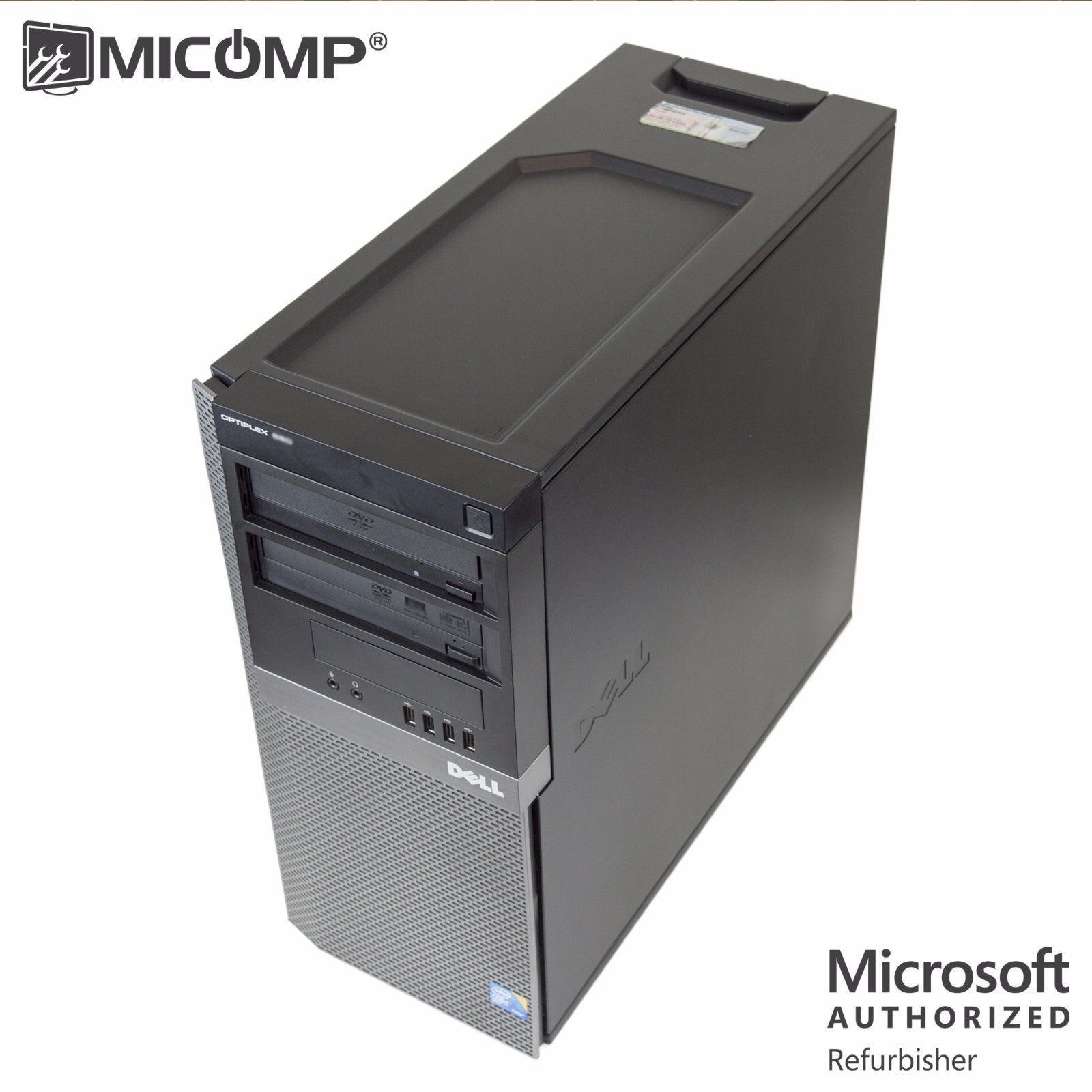 Computers Gifts Fast Dell 960 Tower Desktop Computer Pc Core 2 Quad Cpu 8gb Ram 500gb Windows 10 Christmas Refurbished Computers Hp Computers Windows 10