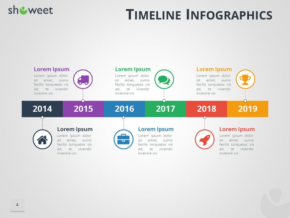 timeline infographics templates for powerpoint template free infographic