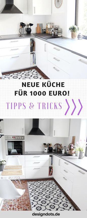 neue k che f r 1000 euro home kitchen k che k che renovieren und neue k che. Black Bedroom Furniture Sets. Home Design Ideas