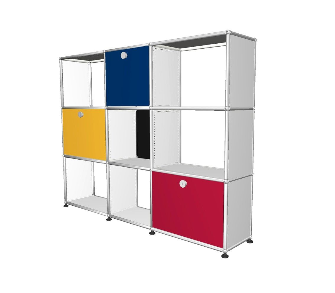 Mondrian Furniture hommage à mondrian - usm | voltex | menphis&esprit | pinterest
