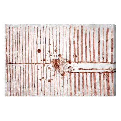 Oliver Gal Love Force Field Rose Gold Canvas Wall Art - 14329_24X16_CANV_XHD