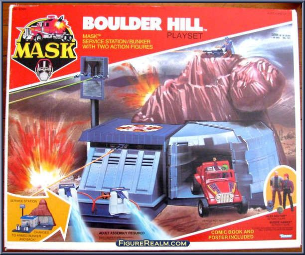 M A S K Boulder Hill Playset 80 S Toys Toys Action Figures