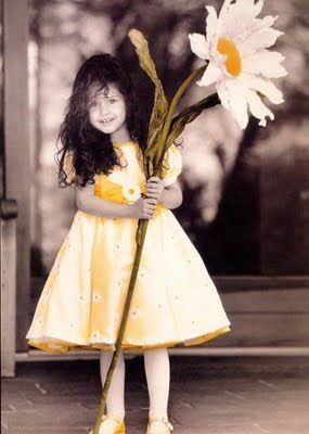 """I picked a """"BIG"""" flower just for you!"""