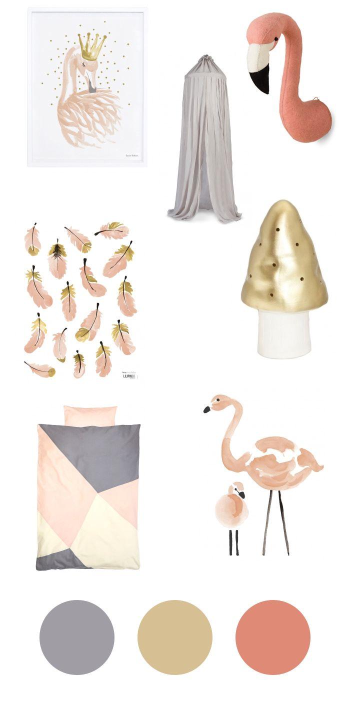 Accessoires f rs kinderzimmer flamingos f r kleine for Kinderzimmer accessoires