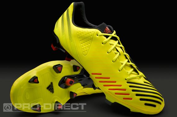 sports shoes 3aa93 5eb4d adidas Football Boots - adidas Predator LZ TRX FG SL - Firm Ground - Soccer  Cleats - Electricity-Black-Infrared