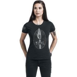 Tool Eye In Hand Damen-T-Shirt - schwarz - Offizielles Merchandise
