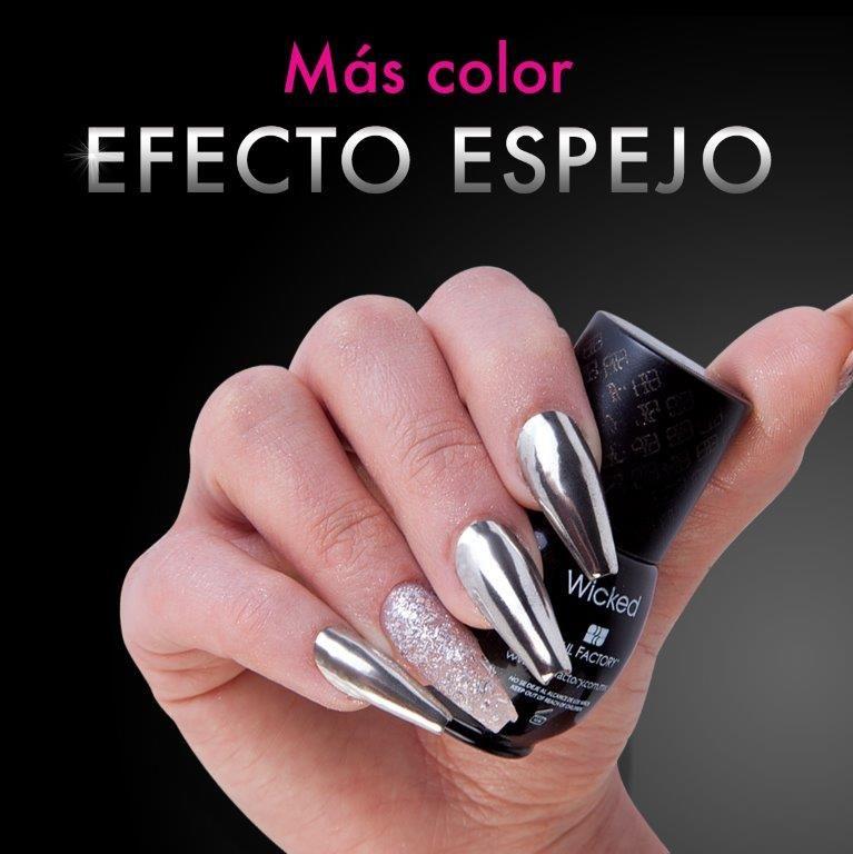 Pin de Nail Factory Oficial en Efecto Espejo | Pinterest | Mejores