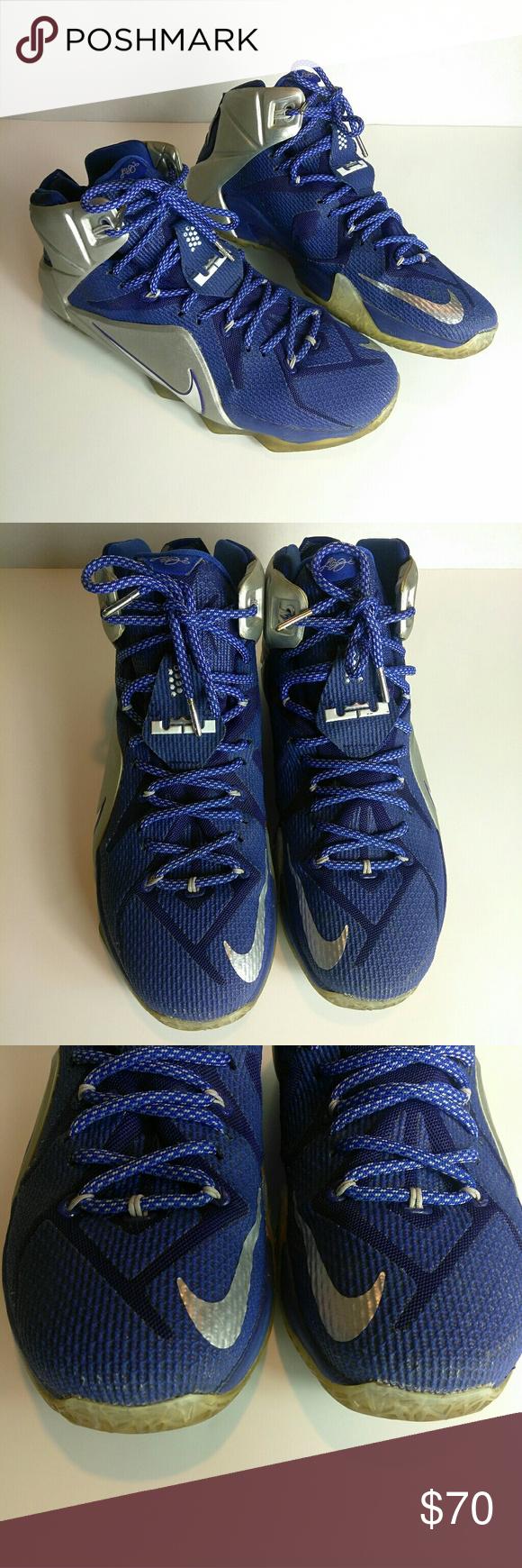 11ac3befb3b7 Nike Lebron 12 Dallas Cowboys Basketball Men 10.5 Nike Lebron 12 Dallas  Cowboys Basketball Men Size